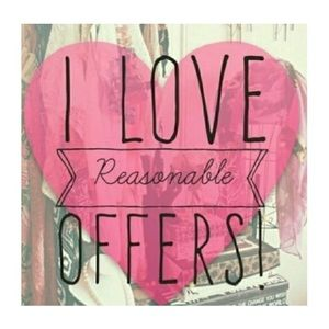 💕💕REASONABLE OFFERS WELCOME 💕💕